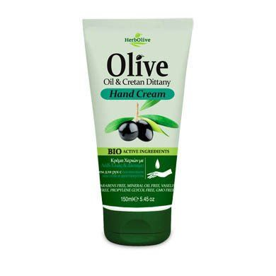 HerbOlive Hand Cream with Olive Oil and Cretan Dittany 150ml/5.07 fl oz