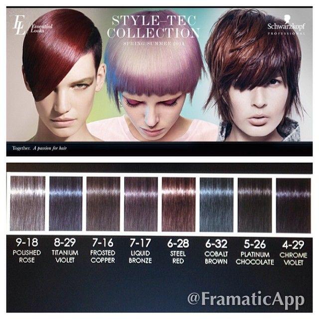 Schwarzkopf S New Metallics Collection Raquel Does Hair
