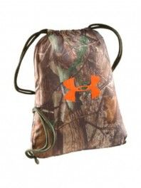 Under Amour Camo gym sack. Want this so bad! <3