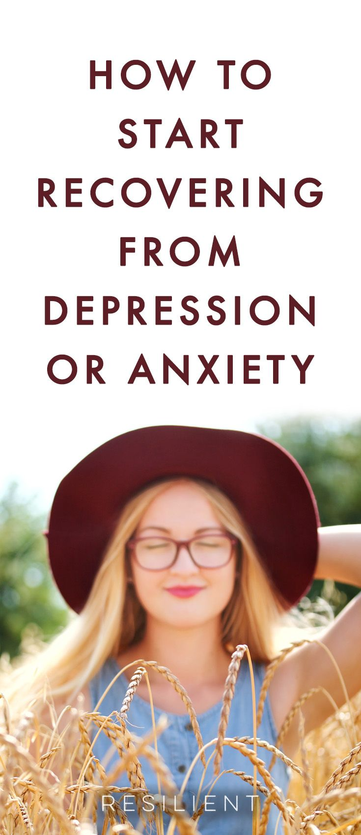 How to recover from depression and anxiety