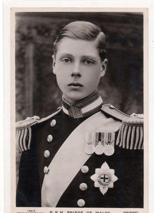 Edward VIII, as prince of Wales | ROYALTY | Pinterest