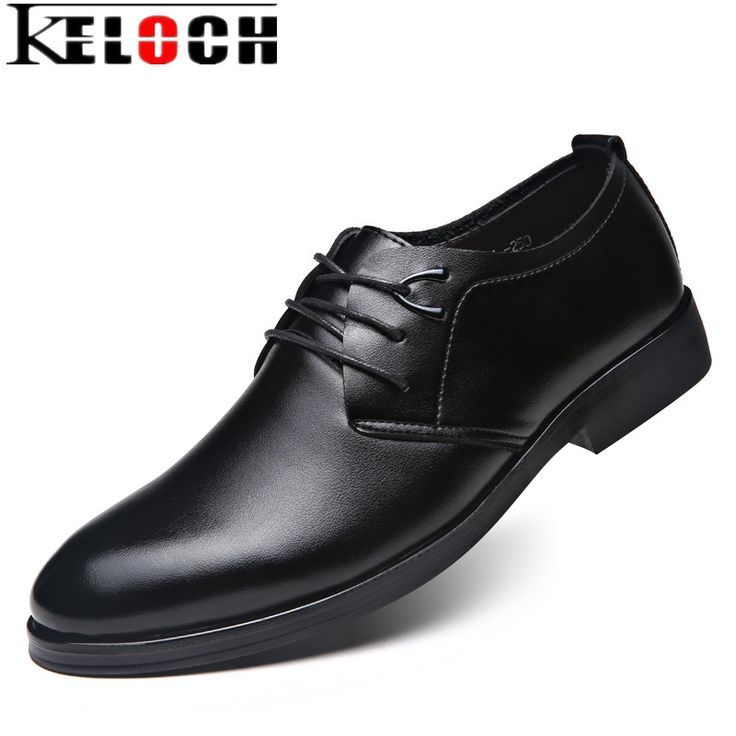 Keloch 2017 Business Dress Men Formal Shoes Wedding Pointed Toe Fashion Patent Leather Shoes Flats Oxford Official Shoes For Men