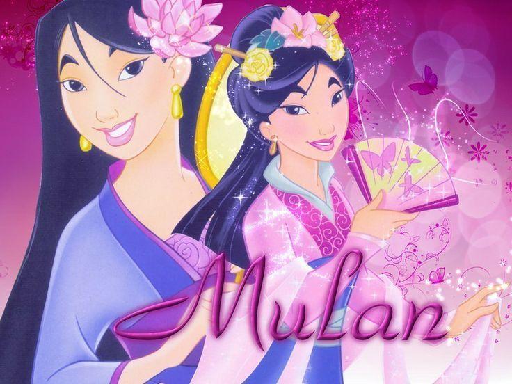 Mulan Disney | Mulan Face up | dilva | Flickr
