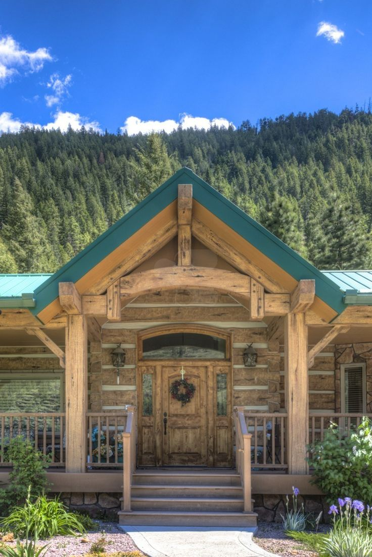 62 Best Everlog Concrete Log Homes Images On Pinterest