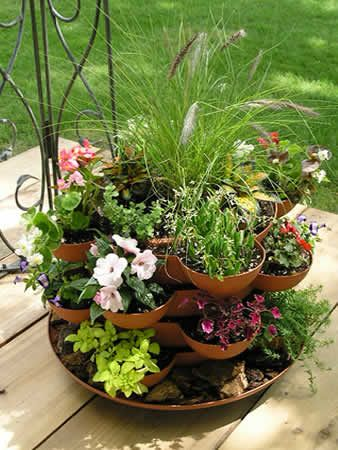 indoor herb garden 22 best images about stacking planters on 30701