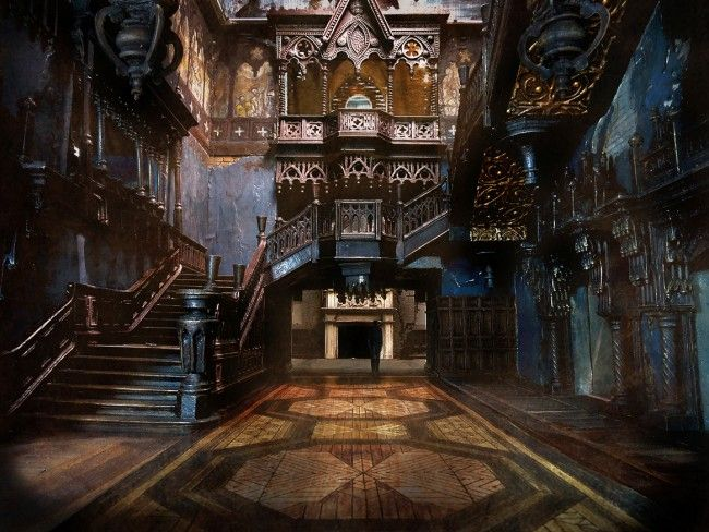 Foyer Wallpaper Game : Best gothic horror images on pinterest art