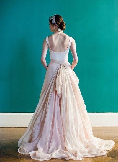 Vestido de noiva de Carol Hannah. #casamnto #vestidodenoiva