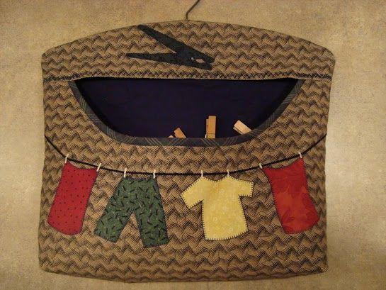 Bolsa para guardar pinzas