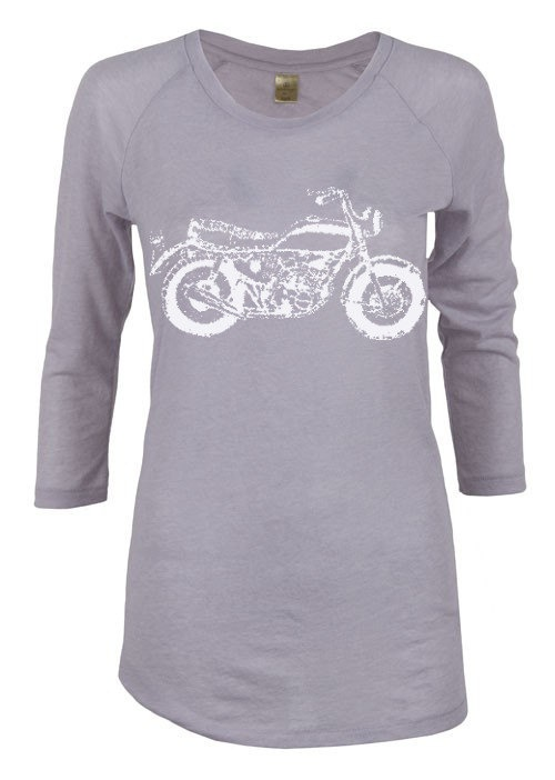 Womens MOTORCYCLE alternative apparel gauze by FreeBirdCloth, $22.00