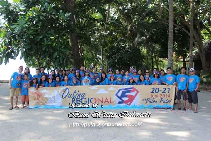 Outing Regional PT GAPURAPRIMA GROUP | Pulau Putri Pulau Seribu
