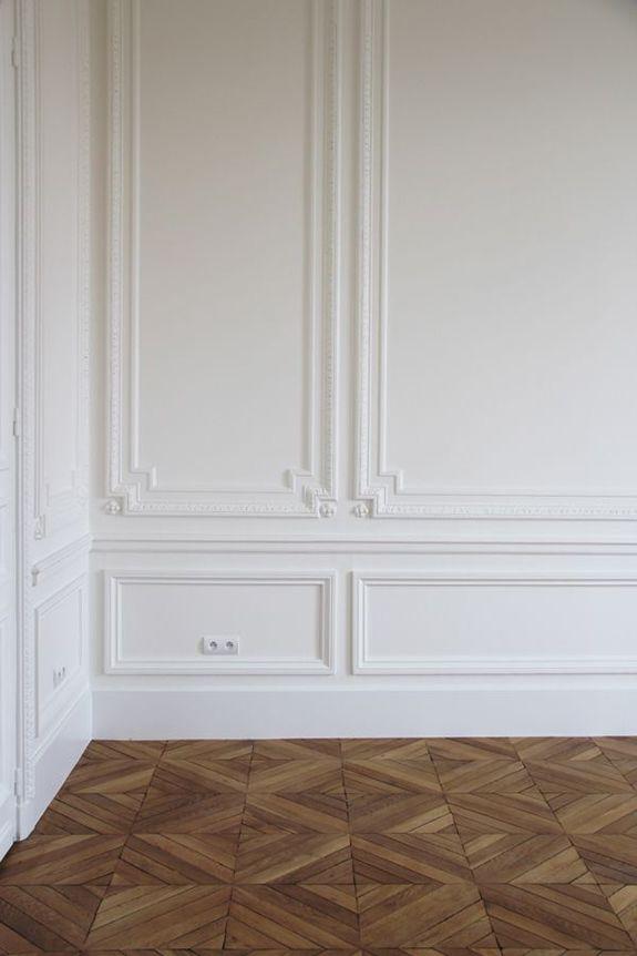 *timber floors *white *paris