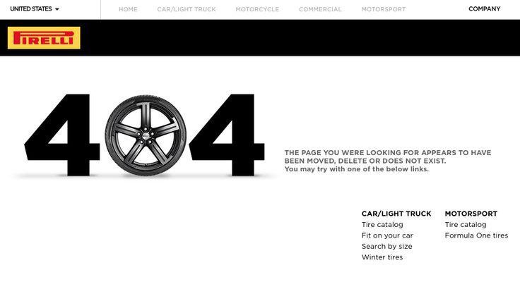 404 page not found - #pirelli #404error
