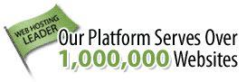 Our Platform Serves Over 1,000,000 Websites