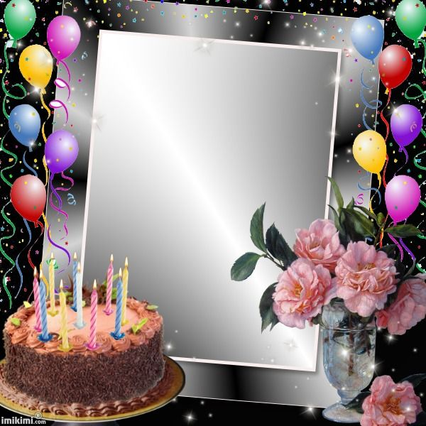 Birthday Wishes With Photo Frames Frameswalls