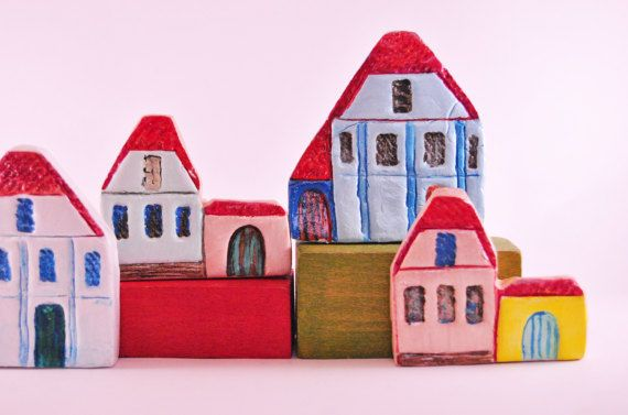 Collectible House miniature rural Transilvanyan house rustic