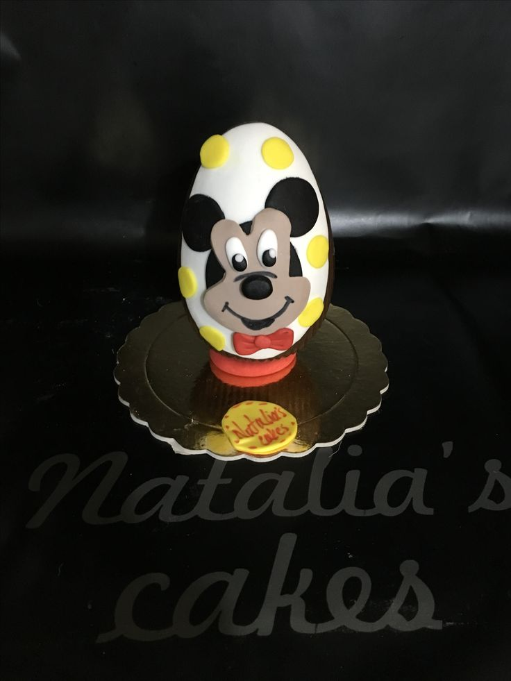 Chocolate Easter egg MICKEY mouse!