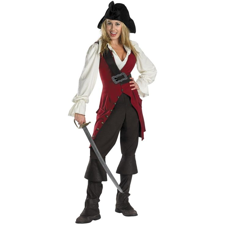 Elizabeth Pirate Adult Deluxe
