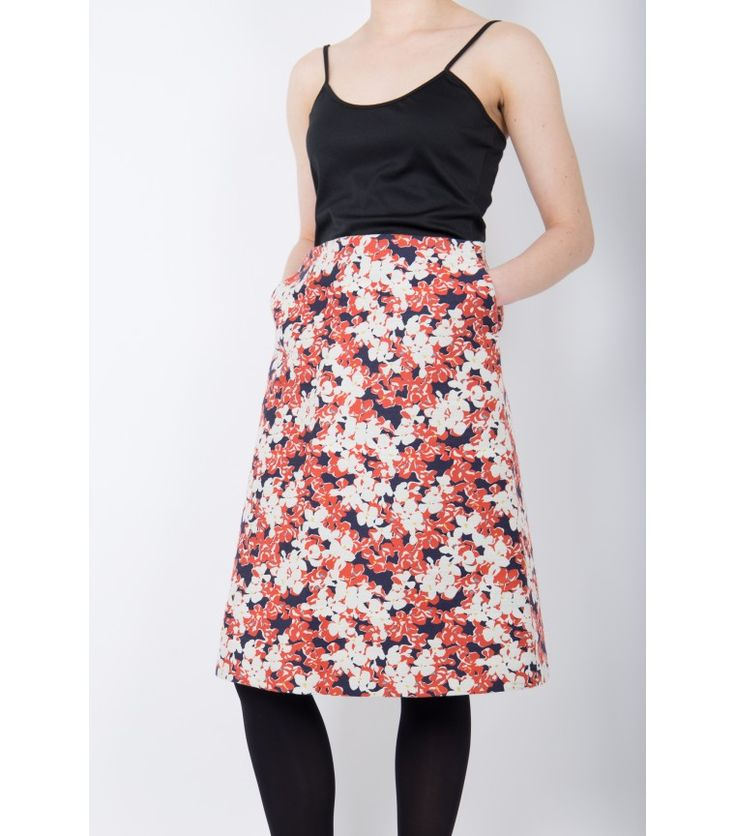 Marimekko Sola Print Skirt, 38 - WST