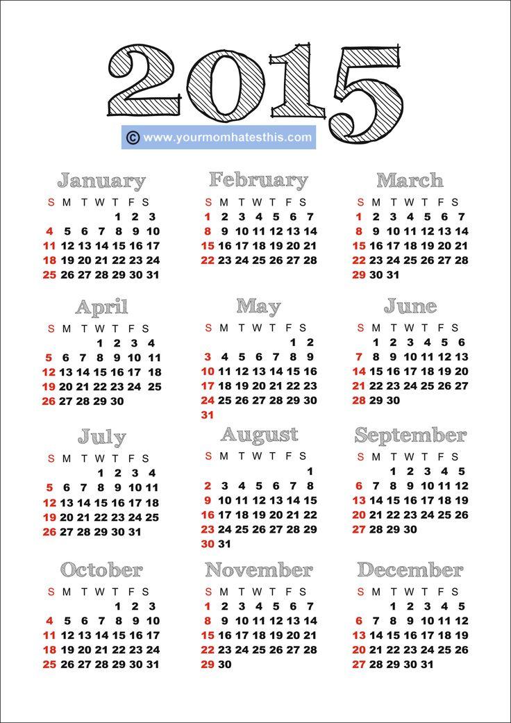 2015 calendars | 2015 Calendar 9