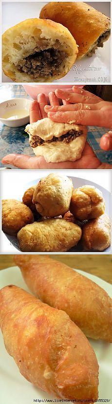 Знаменитые Орские ливерные пирожки из жидкого теста
