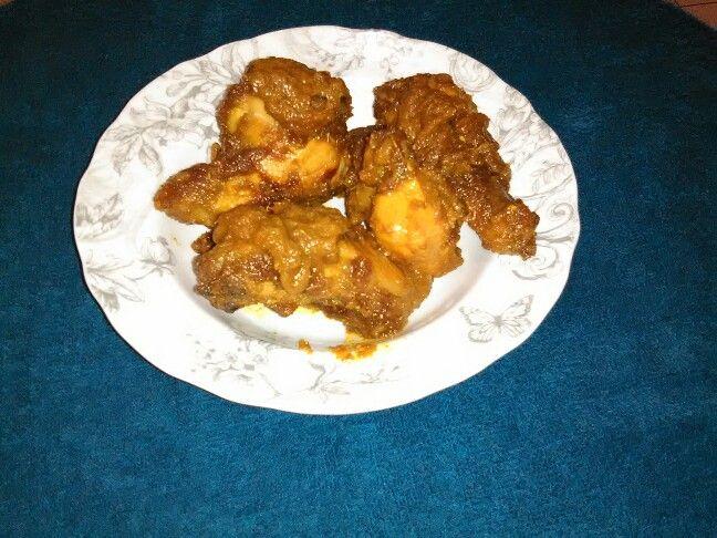 Ayam siap bakar