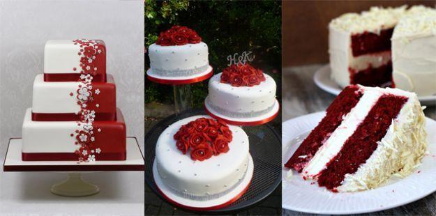 torte quadrate rosse - Cerca con Google