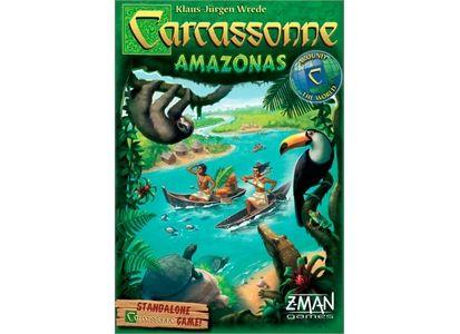 Carcassonne Amazonas Brettspill Frittstående spill