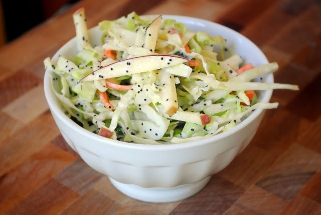 Apple Cabbage coleslaw