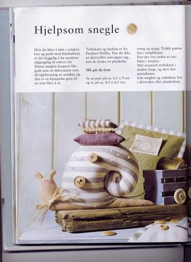 tilda's snail (with pattern)