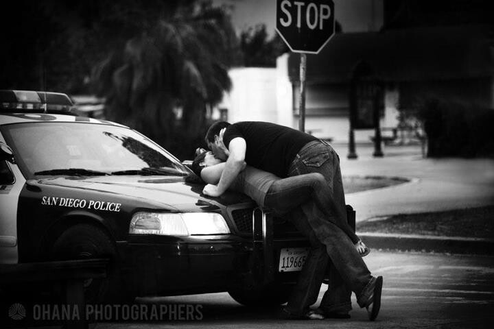 Police Engagement Photo - Police Photography