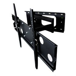 Mount-It! Low Profile Articulating Wall Mount for 42- to 70-inch TVs with Extra Extension $78.99