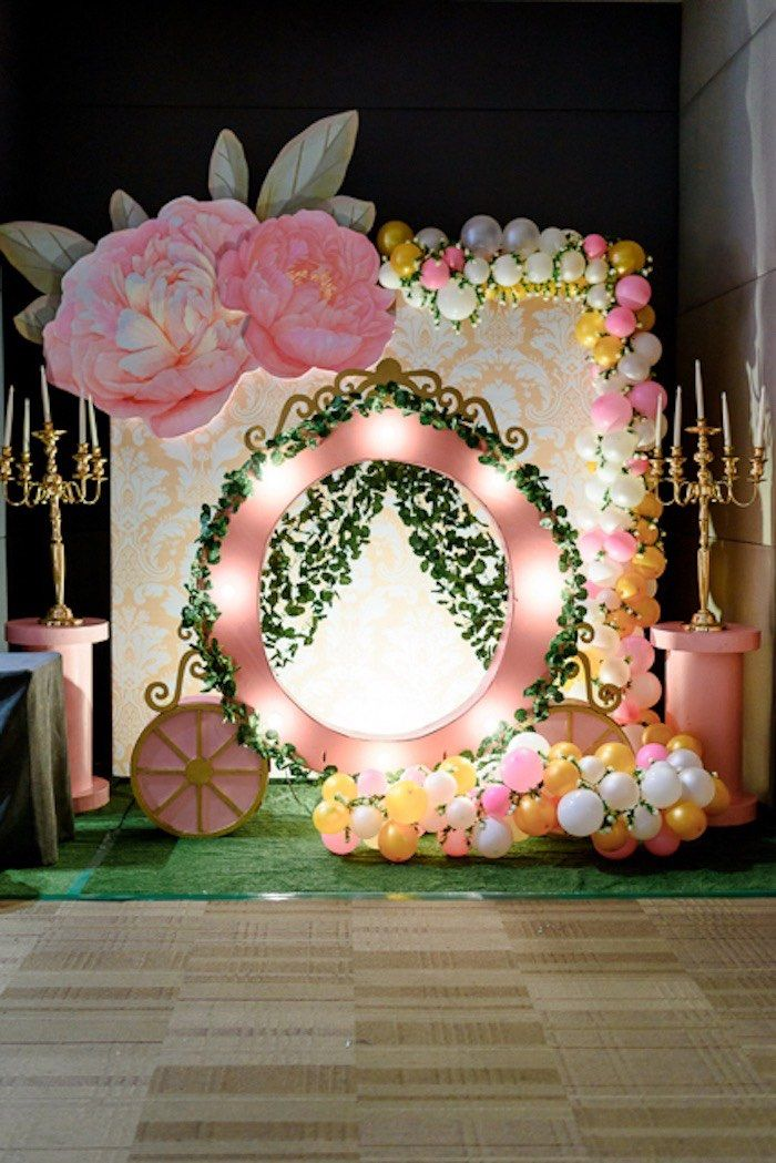 Fairy Princess Birthday Party Kara S Party Ideas Princess Party Decorations Princess Birthday Party Decorations Fairy Princess Birthday
