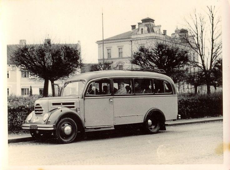 https://flic.kr/p/BD1no4 | Robur Garant 30 K Omnibus (4/1959 Stříbro) | ND-22-72