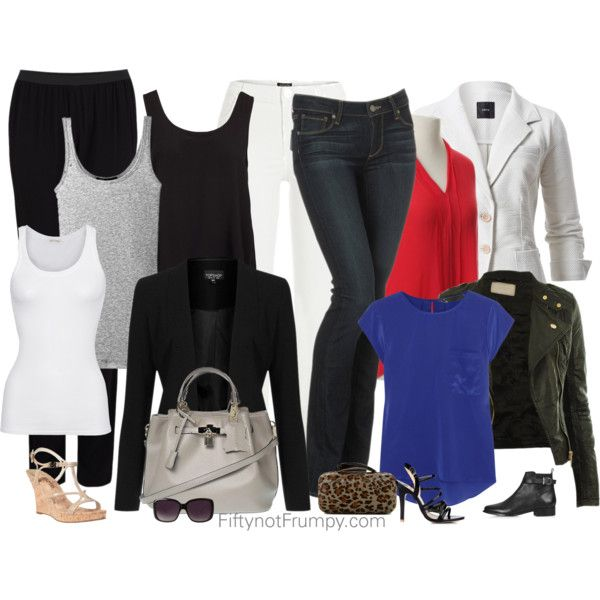Fifty, not Frumpy: Basic Wardrobe Checklist