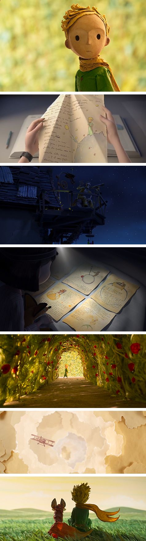 "First images from the #trailer for ""The little Prince"", by Tor.com. Looking forward to it. #petitprince"
