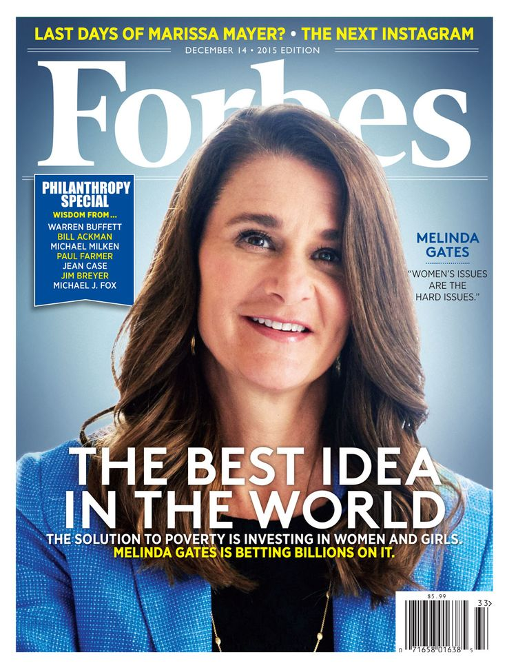 How Melinda Gates Became The World's Most Powerful Advocate For Women And  Girls