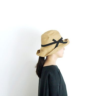 mature ha. BOXED HAT 101 Black