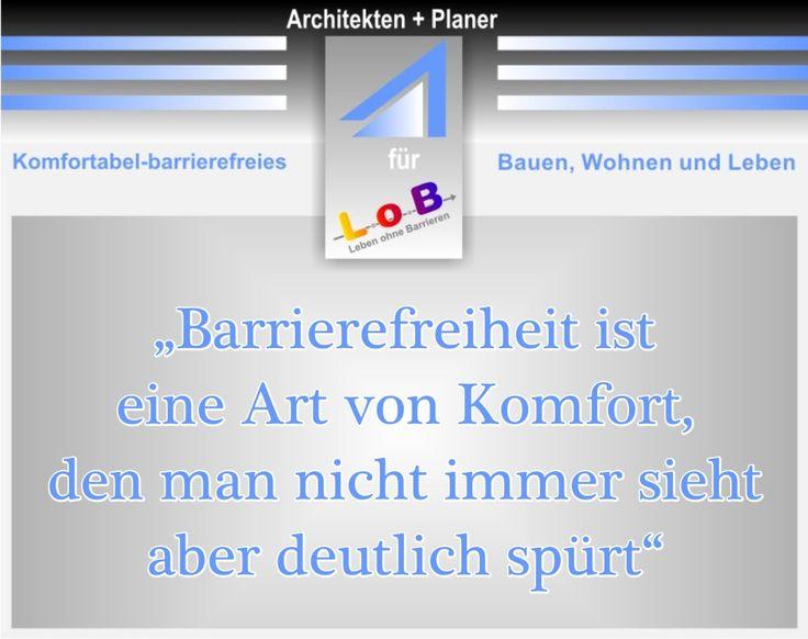 Info für Architekten unter info@lebenohnebarrieren.de