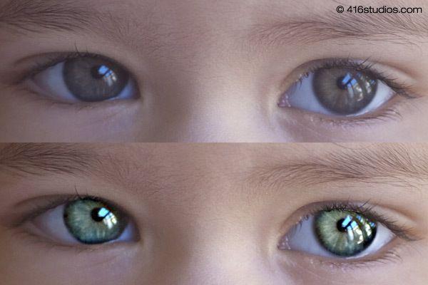 Как сделать глаза резкими и выразительными — Урок ...