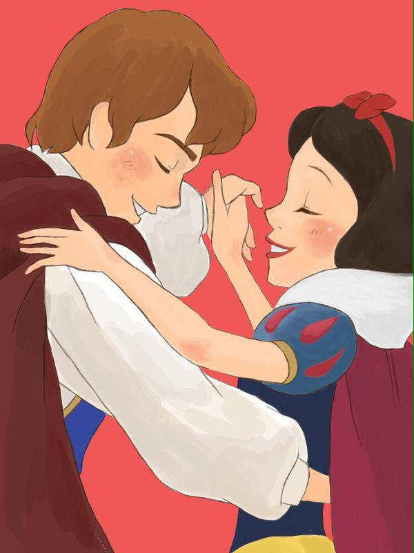 Snow White & Prince Charming dancing