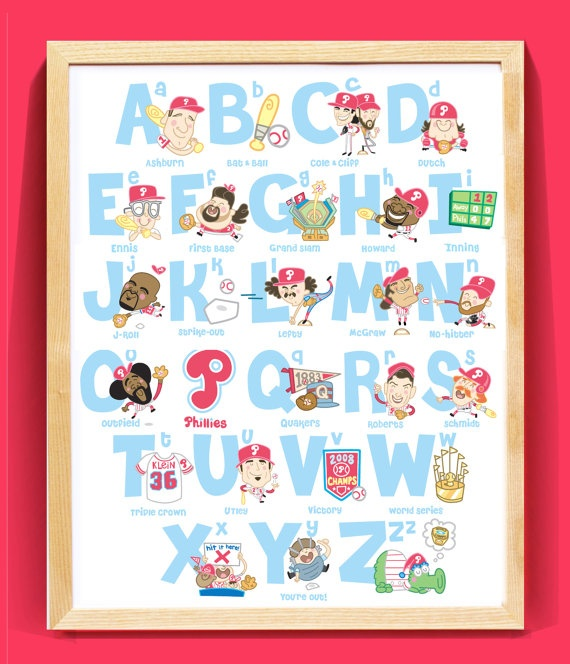 Absolutely in love - Phillies Baseball Alphabet