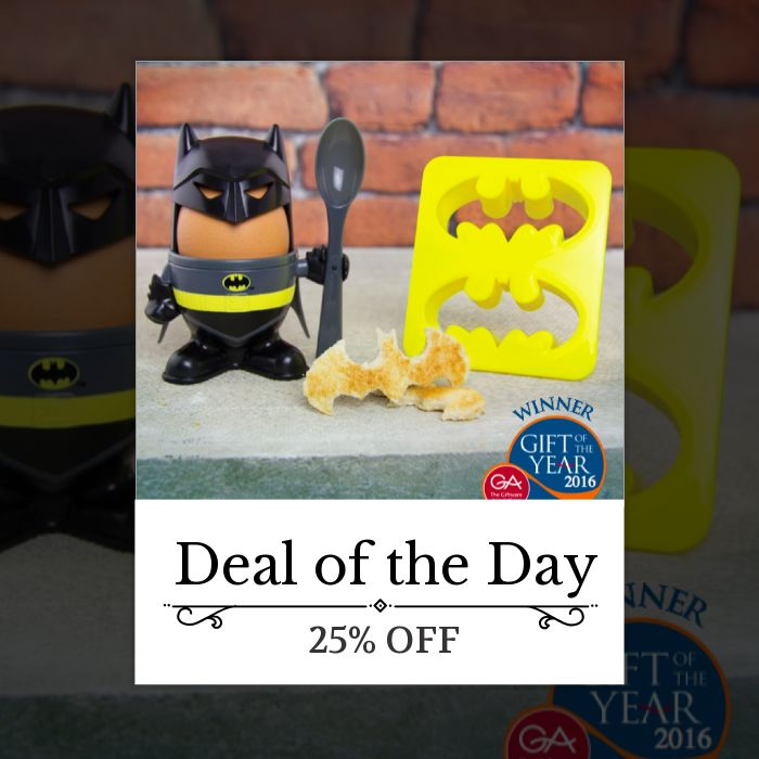 Today Only! 25% OFF this item.  Follow us on Pinterest to be the first to see our exciting Daily Deals. Today's Product: Sale -  Batman Officially Licensed Egg Cup + Toast Cutter (Gift Of The Year 2016) Buy now: https://small.bz/AAbDCnm #hogwartsexpress #mischiefmanaged #potter #hufflepuff #jkrowling #hermionegranger #ronweasley #slytherin #hp #potterhead #emmawatson #deathlyhallows #hogsmeade #harrypotter #harrypotterworld #harrypotterfan #harrypotterfandom #harrypotterbooks…