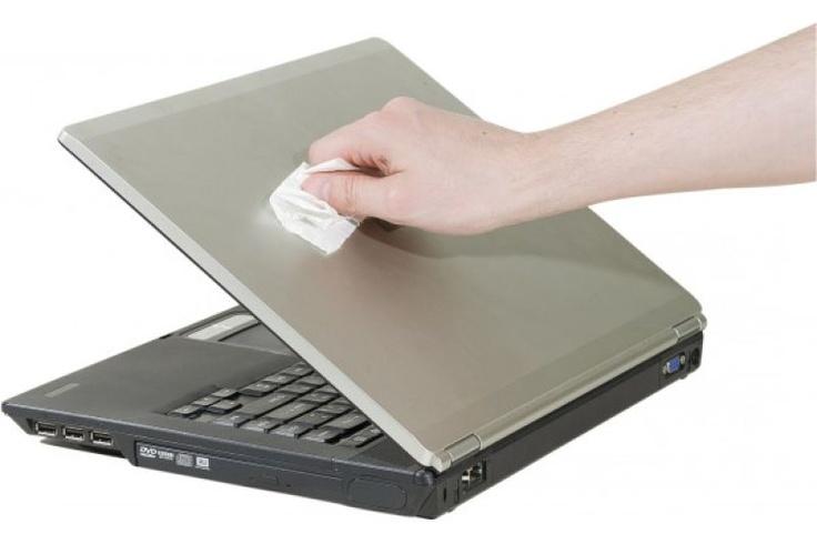 Chappai Technologie - Boîte de 100 lingettes imprégnées écran clavier.