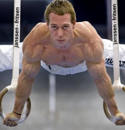 Muscle Building Gymnastic Rings Workout