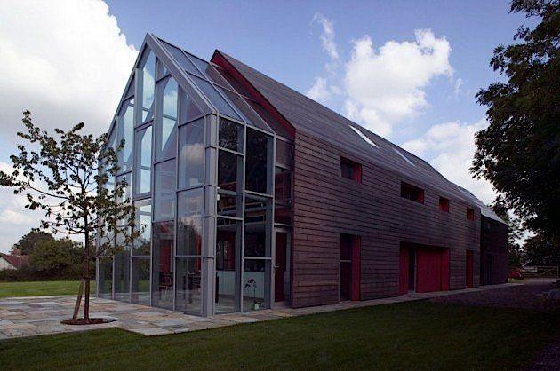 Ein Haus mit beweglichem Dach, geplant von dRMM