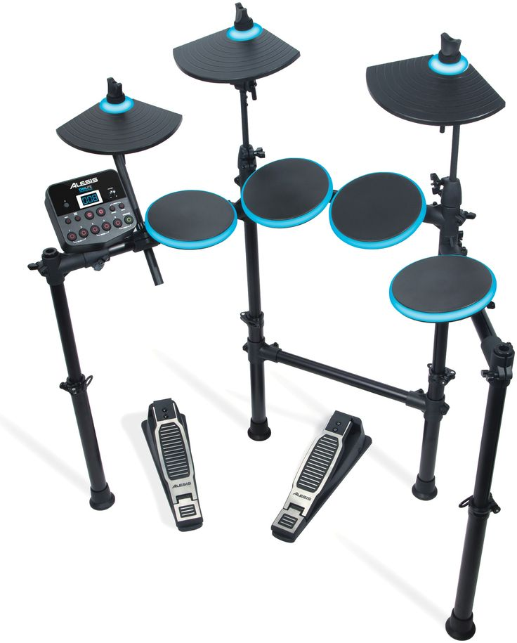 Alesis DM Lite, an affordable drum kit for a beginner like me, so I could get into the groove without driving my wife out of the house.