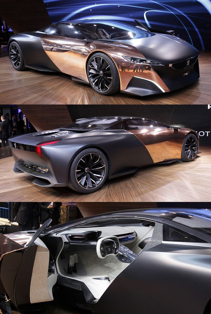 2012 Peugeot diesel-hybrid Onyx Concept Car