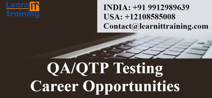 Testing Tools Online Training: QA/QTP Testing Training Career Opportunities and S...