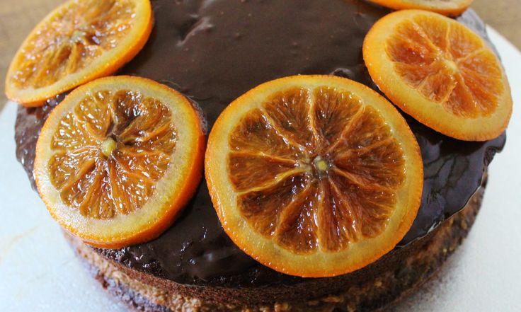 The best vegan Jaffa cake | thealmostveganaussie.com
