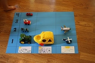 Early graphing sorting transportation :) like this idea and it can be tweaked in many different areas